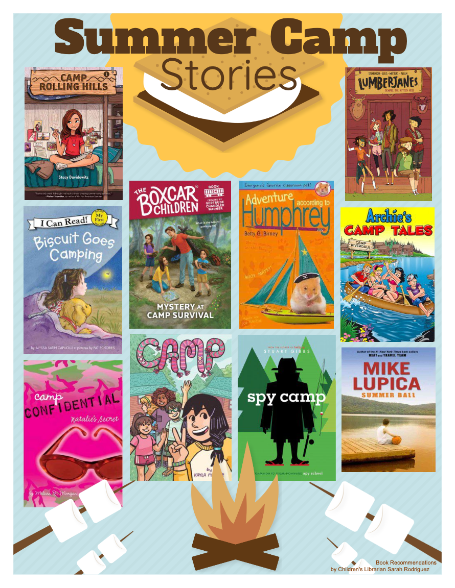 Summer Camp Stories Books