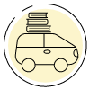 Contactless Pickup quick link icon