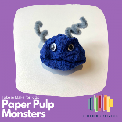 paper pulp monsters