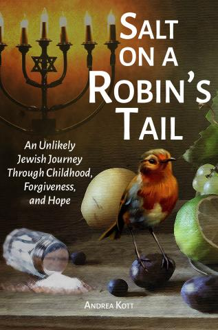 "Cover of the book ""Salt on a Robin's Tail"" by Andrea Kott"